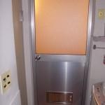 浴室ドアのガラス交換工事 樹脂パネルで安心
