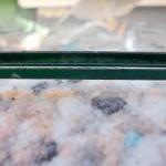 防犯対策ガラス工事  防犯合わせガラス交換工事