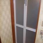 浴室ドア交換 浴室中折れドア カバー工事