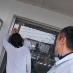 窓 サッシの部品交換 メンテナンス工事