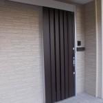 玄関交換工事  玄関引き戸