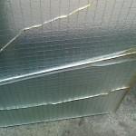 硝子交換工事 網入りガラス熱割れ