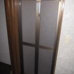 浴室ドアの交換 中折れドアカバー工法