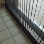 玄関リフォーム 玄関網戸 収納式網戸工事