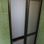 お風呂のドア ワンデーリフォーム タイル壁を壊さない工事