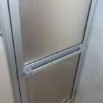 ドア交換 浴室ドア 窓リフォーム1日でリフレッシュ