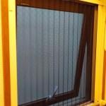 網戸  収納式横引き網戸 窓枠につける網戸