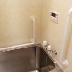 浴室リフォーム お風呂の手すり 安全対策