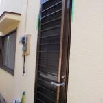 ドア交換 通風ドア取付け ドアのリフォーム カバー工法で交換