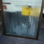 硝子交換 ペアガラス内部結露のガラス交換