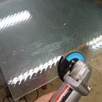 ガラス交換 熱割れ防止 網入りガラス