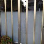 玄関ガラス交換 ぼかしガラスの交換 窓リフォーム