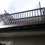 バルコニー工事 ベランダ設置 屋根上の洗濯物干し場