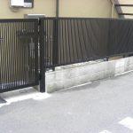 フェンス・門扉の取り付け