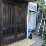 玄関工事 玄関引き戸交換 カバー工法 リシェントでリフォーム