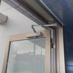 マンションエントランス工事 玄関ドア交換 フロント工事