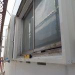 雨戸取り付け 窓のリフォーム 風の入る雨戸