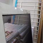 大掃除 網戸張替え 窓ガラスとアミド