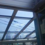 テラス・バルコニーの屋根工事 熱線遮断の屋根で工事する