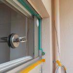 エアコン 窓ガラスから配管 エアコンダクトパネル