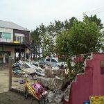 台風15号の被害  金沢区福浦地区  窓リフォーム山装