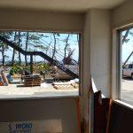 横浜市金沢区福浦地区 台風被害 窓リフォーム山装
