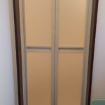 浴室ドアの交換 中折れドア